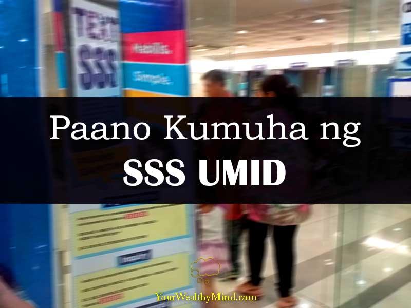 Paano Kumuha ng SSS UMID your wealthy mind