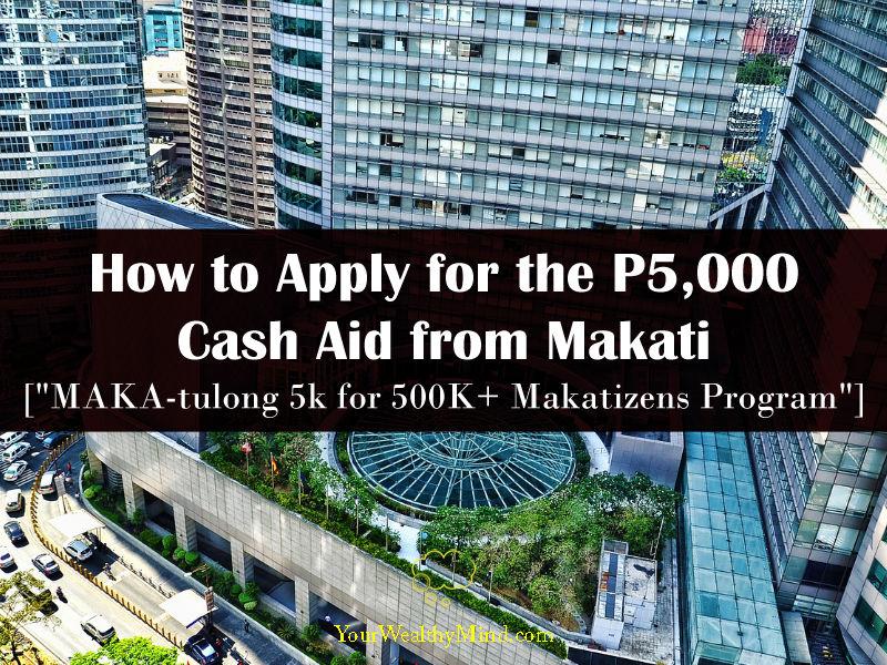 makatizen cash aid makatulong cash aid p5000