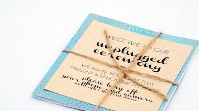 Unplugged Ceremonies
