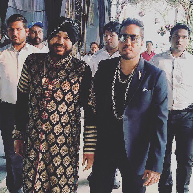 Mika Singh and Daler Mehndi