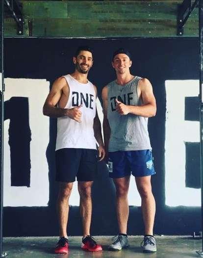 Daniel Sams with his brother Anthoyu Sams