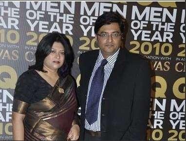 Arnab Goswami with Samyabrata Ray Goswami