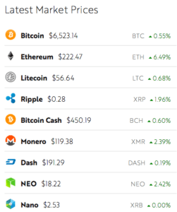 tabla precios criptomonedas ¿cómo puedo invertir en bitcoin si no tengo suficiente para onem