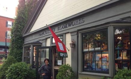 ナンタケット島の書店