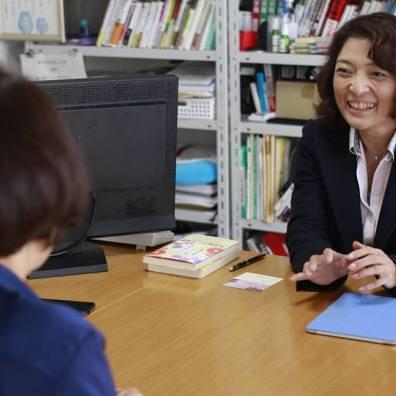 勝間和代さんとの対談 Discussion with A Leading Female Business Person in Japan