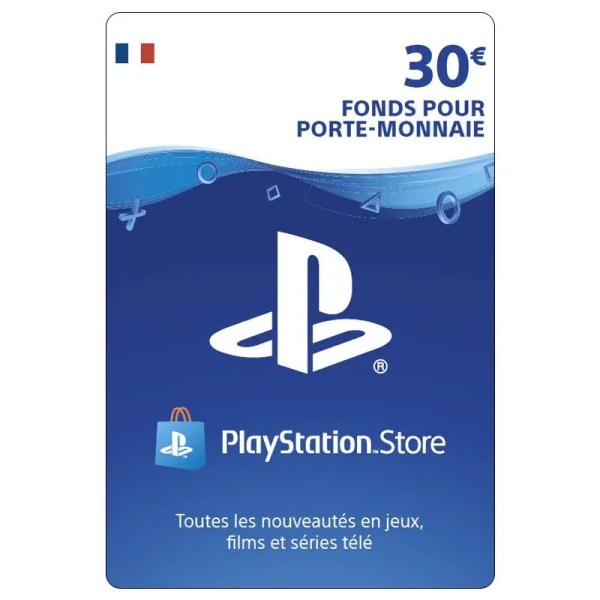 carte playstation 30 euro