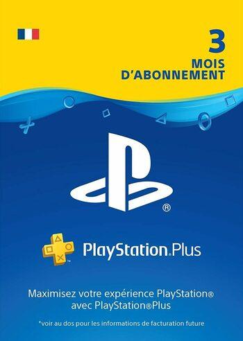 carte Abonnement PlayStation Plus 3 mois