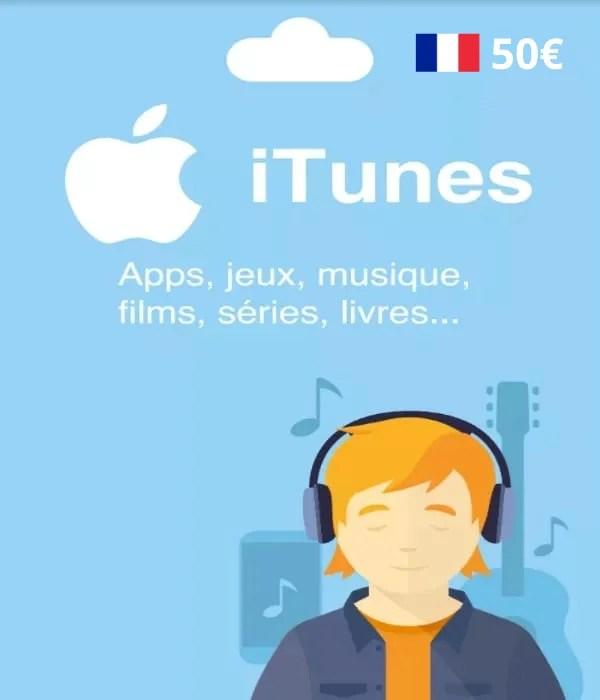Carte App Store & Itunes 50€ [Eu]