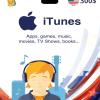 Carte App Store & iTunes 300$ USA