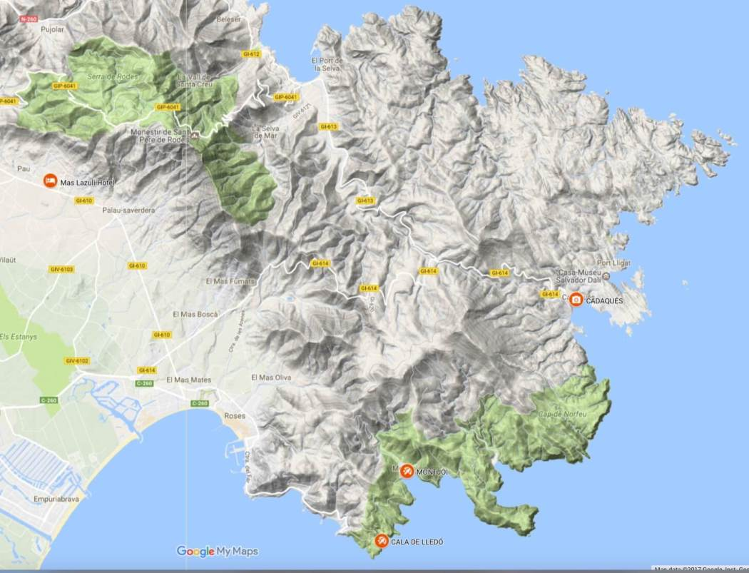 CapdeCreusgeography