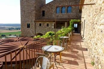 Castell d'Emporda terrace