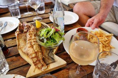 La Huella grilled fish