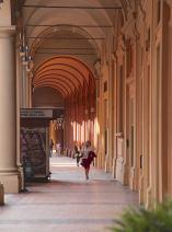Bologna orange corridor