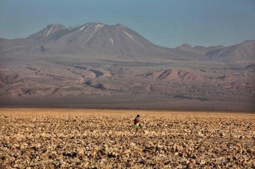 Salar de Atacama hiker