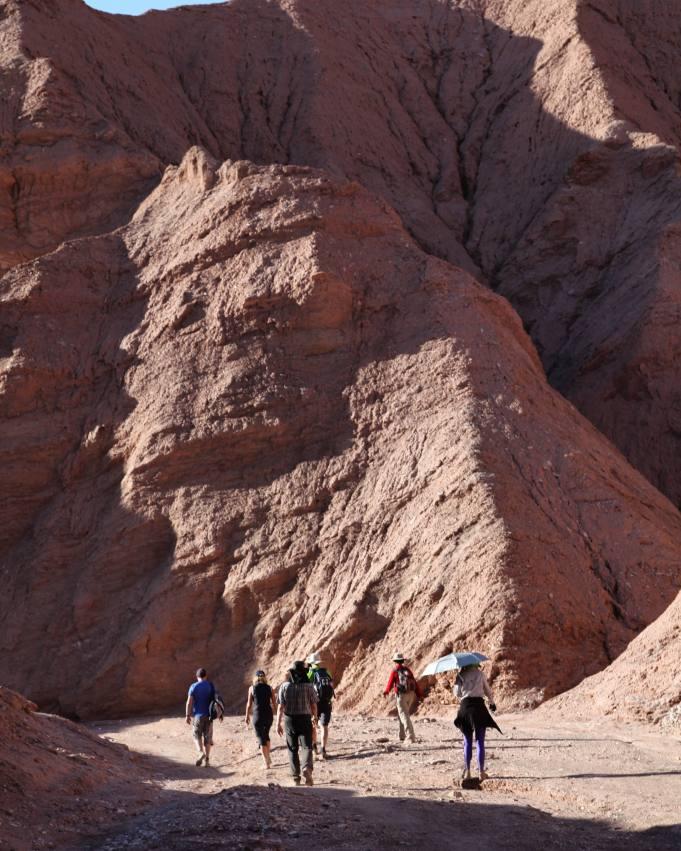 Atacama Desert Devil's Canyon gorge