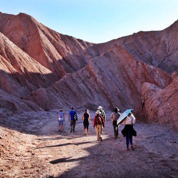 Atacama Desert Devil's Gorge rocks