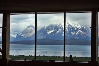 Tierra Patagonia lobby mountain view