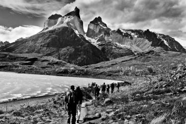 The Horns Torres del Paine hiking