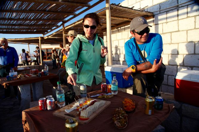 Tierra Atacama excursions food
