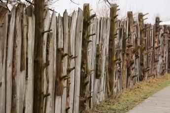 Audubon Rowe Center fence