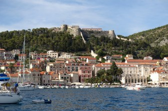 Hvar fort from water