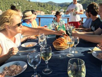 Queen of the Adriatic long lunch