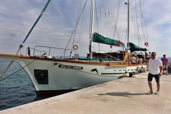 Queen of the Adriatic at dock