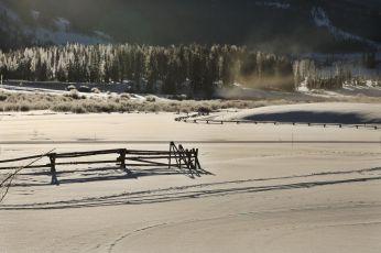 Devil's Thumb Ranch sun fence