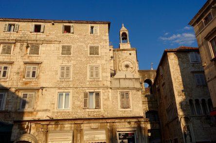 Split Clock Tower