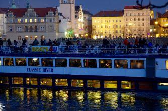 Vltava river boat