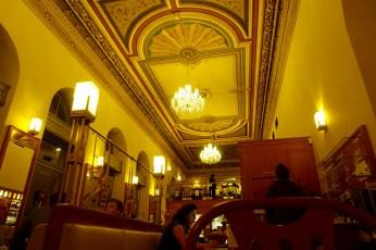 Prague Cafe Savoy ceiling