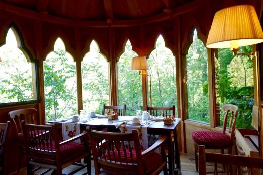 Chateau de Riell breakfast