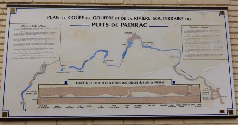 Gouffre de Padirac map