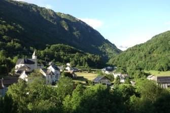 Hotel Brèche de Roland view