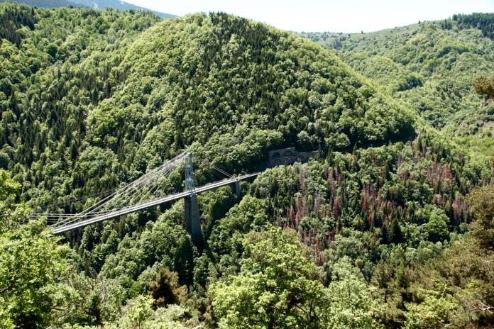 Gorges de la Castellane bridge