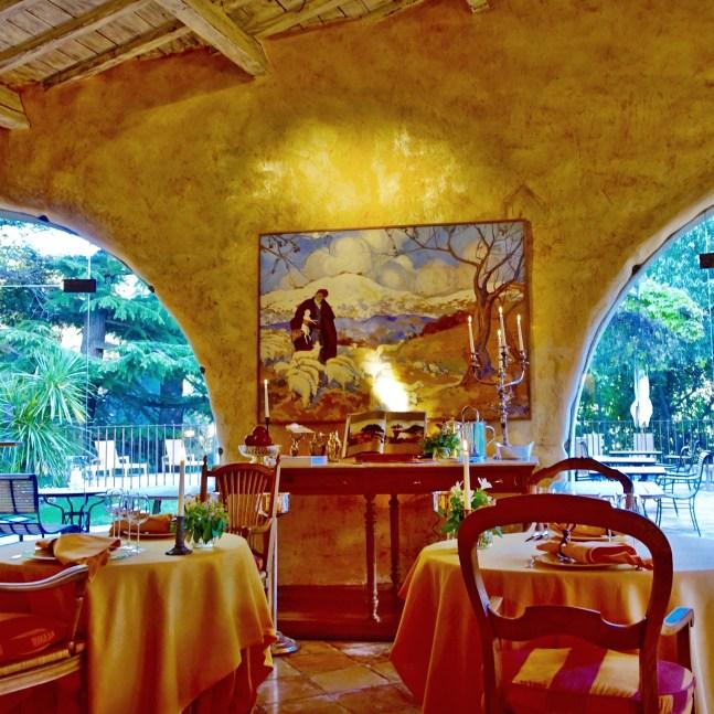 Restaurant du Châtelain painting