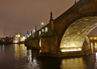 Charles Bridge dark side