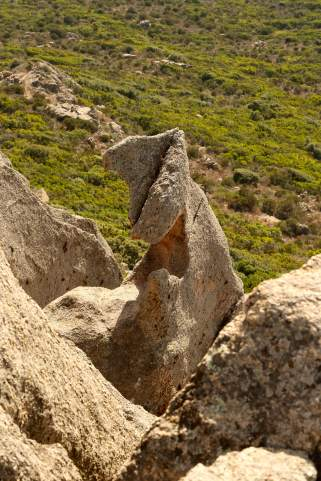 Roccapina rock formation