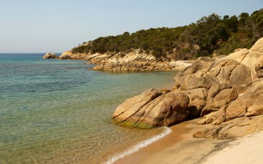 Golfe de Murtoli sandy cove