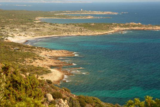 Domaine de Murtoli coastline
