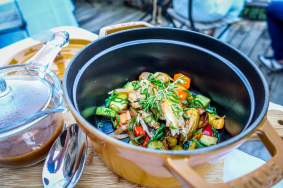 Domaine de Murtoli La Grotte pot chicken