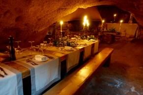 Domaine de Murtoli La Grotte table