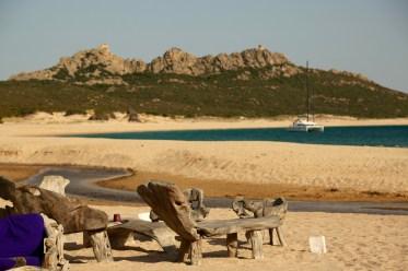 Domaine de Murtoli beach chairs