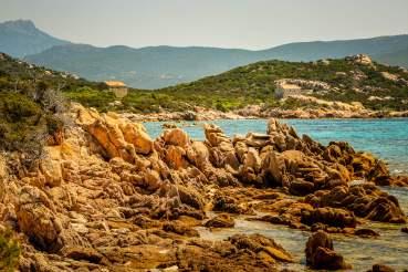 Domaine de Murtoli beach houses and bay