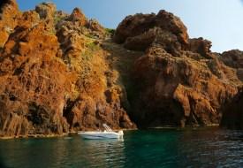 Scandola Nature Reserve boat swimming