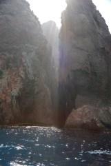 Scandola Nature Reserve slot canyon