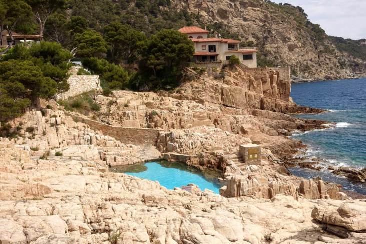 Platja Fonda swimming pool