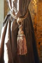 Castell d'Emporda drapes detail