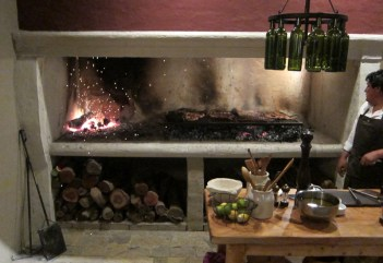 House of Jasmines Salta grill