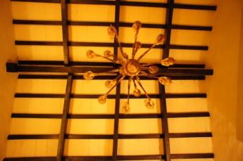 House of Jasmines Salta dining ceiling